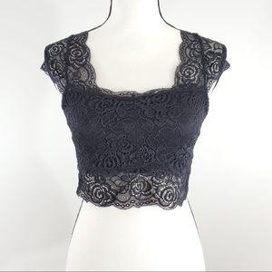 Free People lace intimately bra let Sz M
